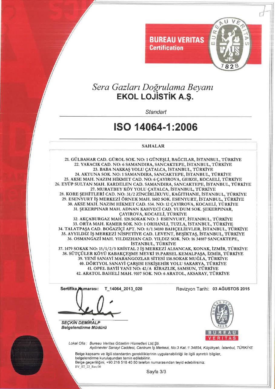 ISO 14064-1:2006 Sayfa 3/3