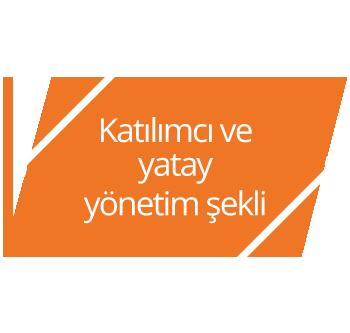 Katılımcı ve yatay yönetim şekli