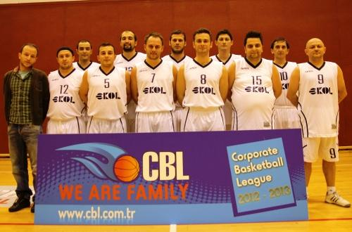 Ekol Basketbol Takımı CBL'de