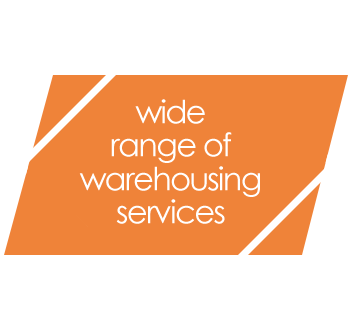 wide range of warehousing services