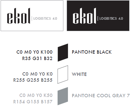 Ekol Logo Colors - Black&White