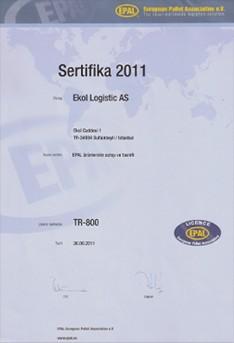 EPAL Sertifikası
