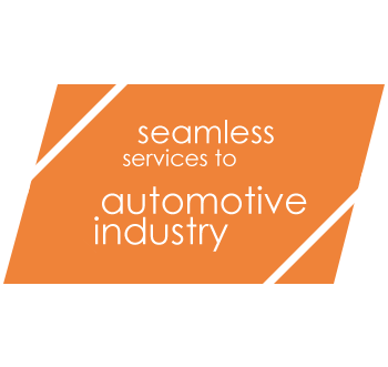seamless services to automotive industry