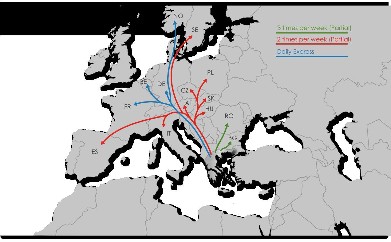 Freight - Ekol Greece