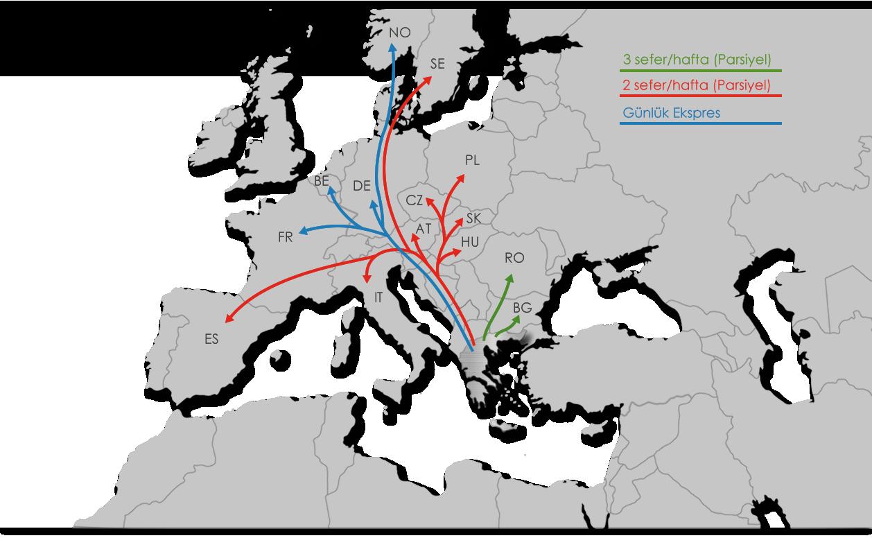 Taşımacılık - Ekol Yunanistan