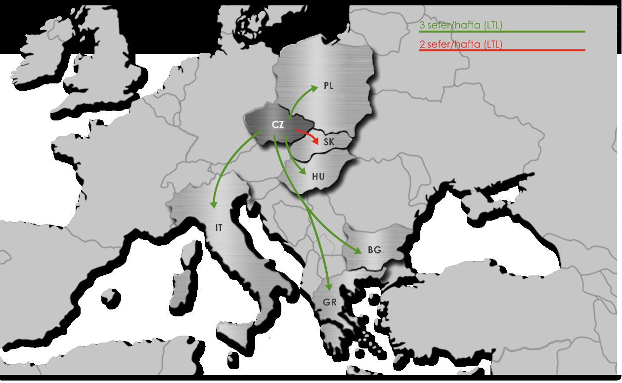 Ekol Çekya'da Taşımacılık