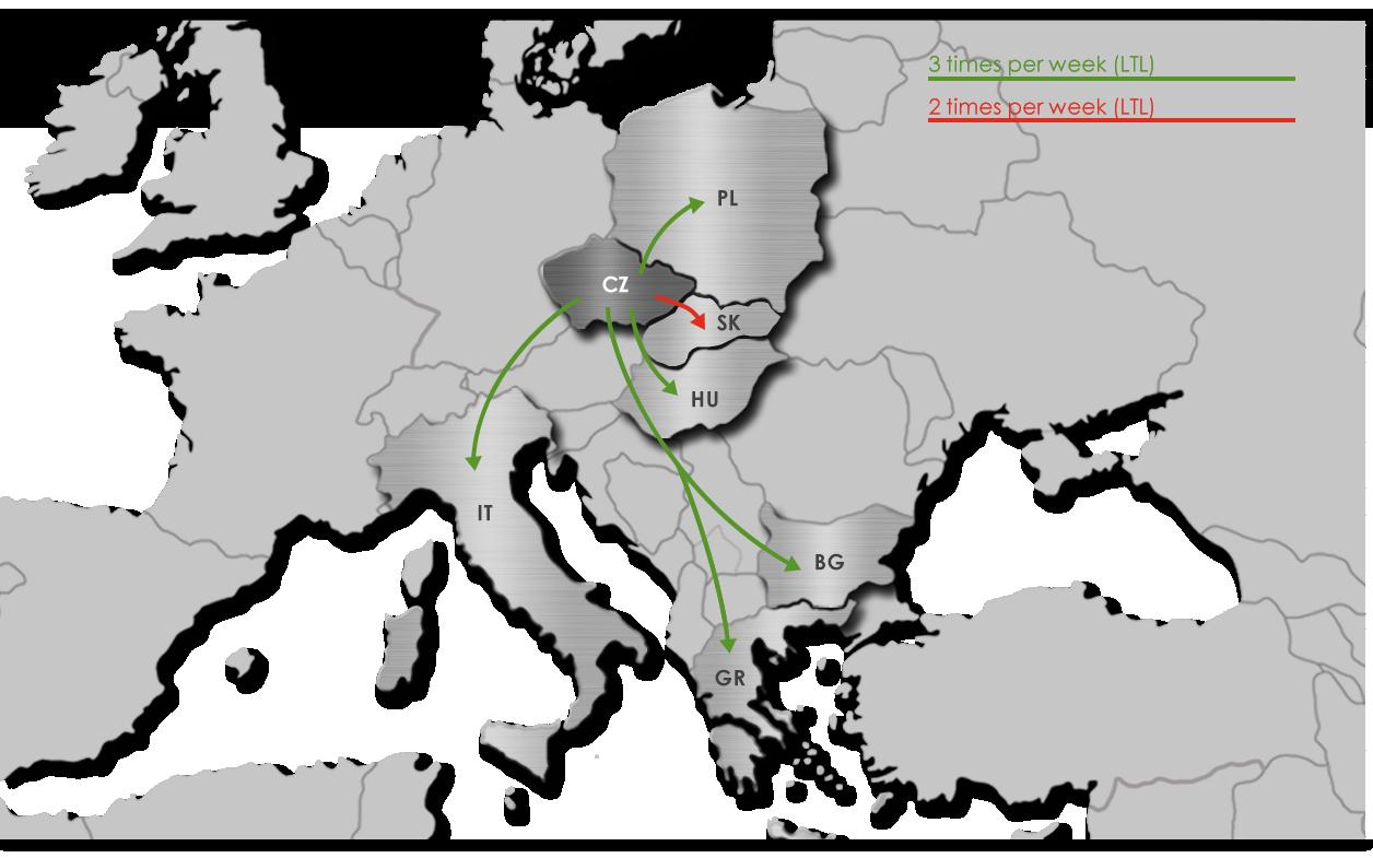 Freight - Ekol Czechia
