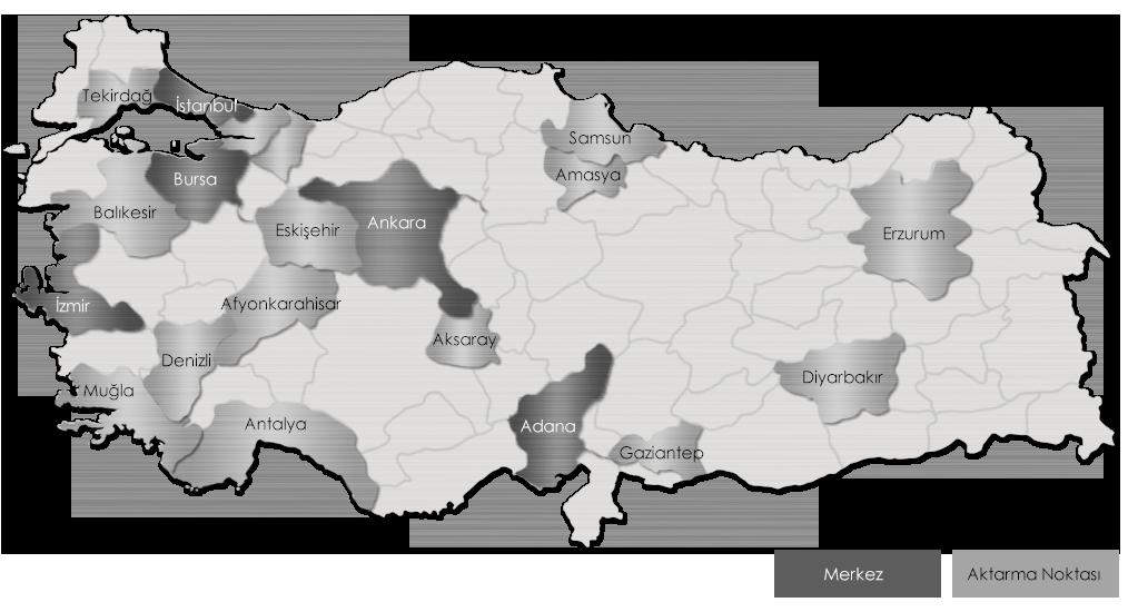 Ekol Türkiye - Ulusal Dağıtım Ağı