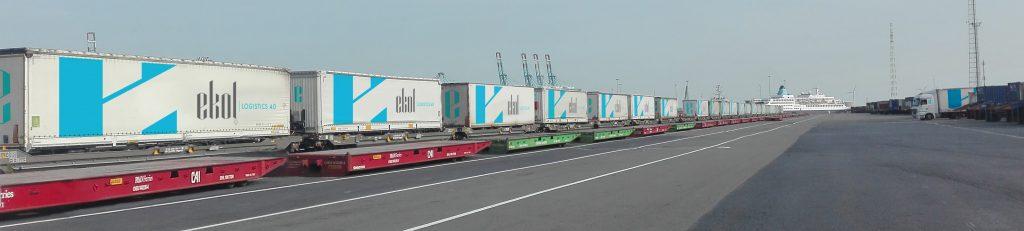 Ekol, Belçika ve İtalya'yı Blok Tren ile Bağladı