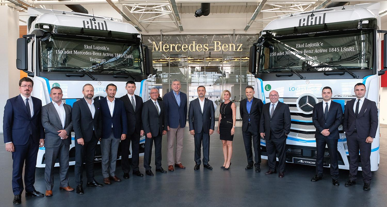 Ekol'e Mercedes Araç Teslimat Töreni