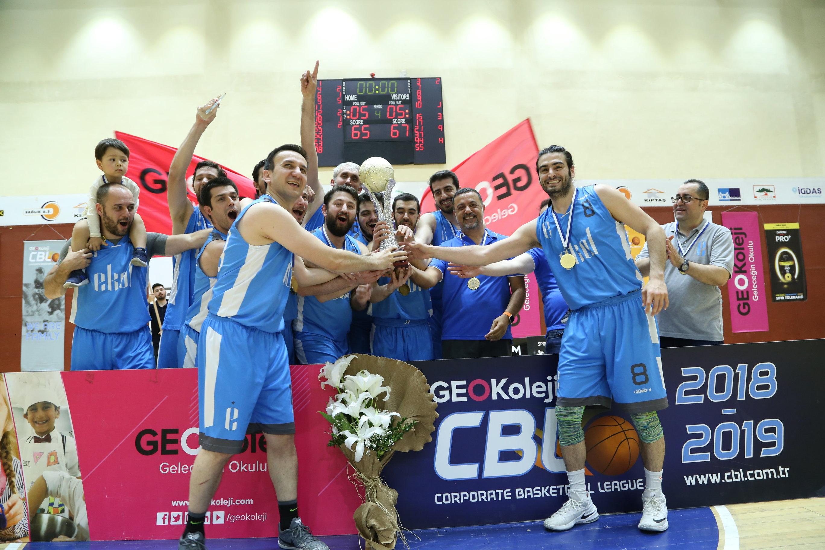CBL 2019 Şampiyonu Ekol!