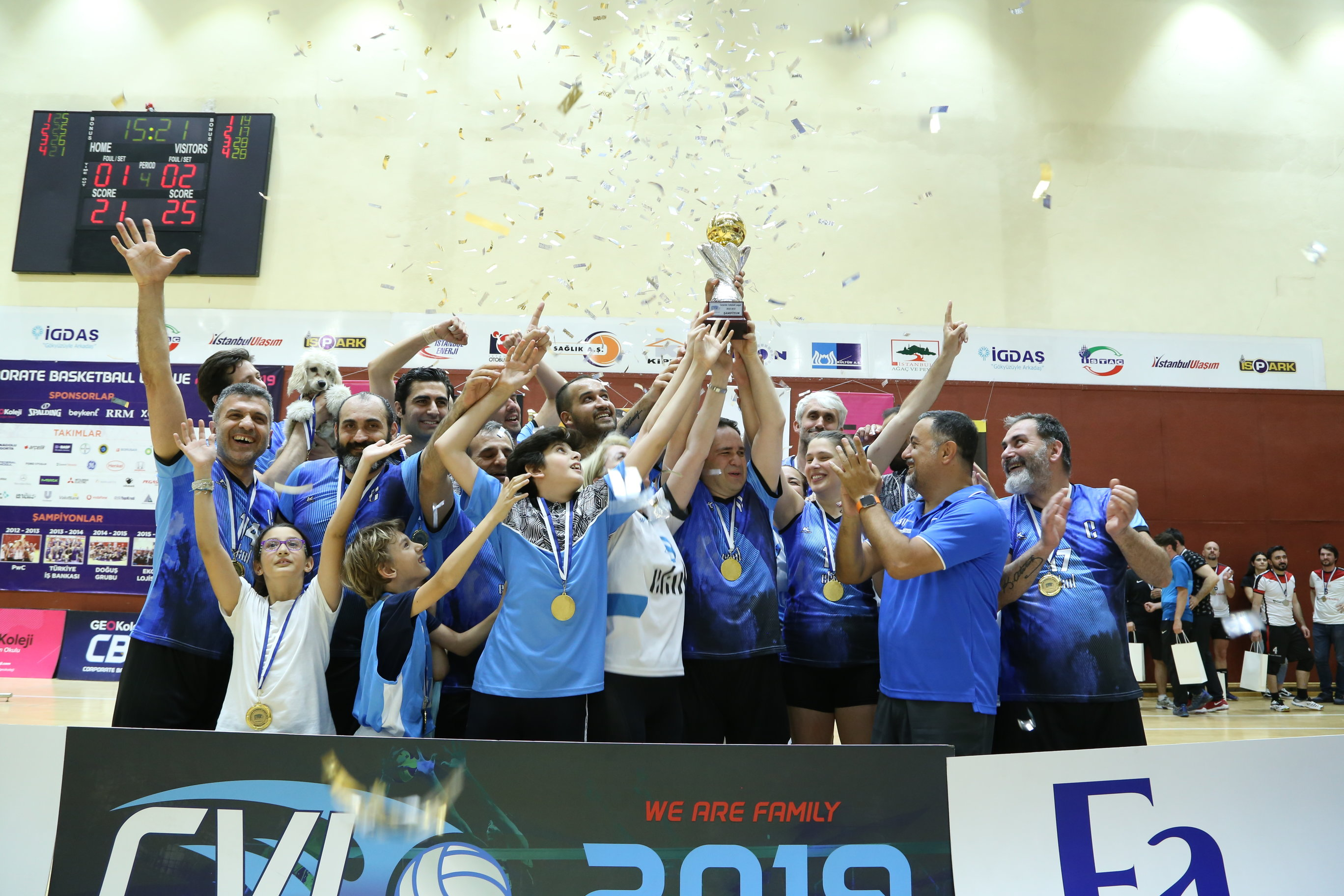 CVL 2019 Şampiyonu Ekol!