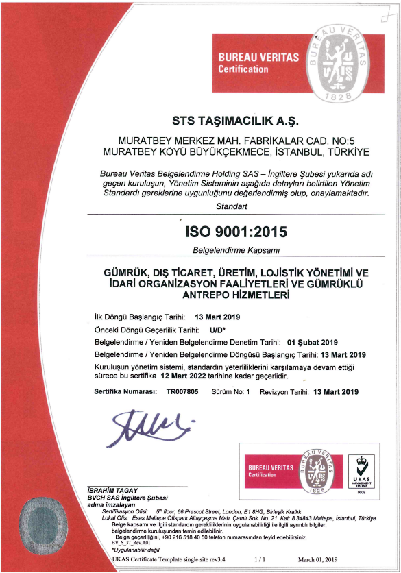 STS ISO 9001